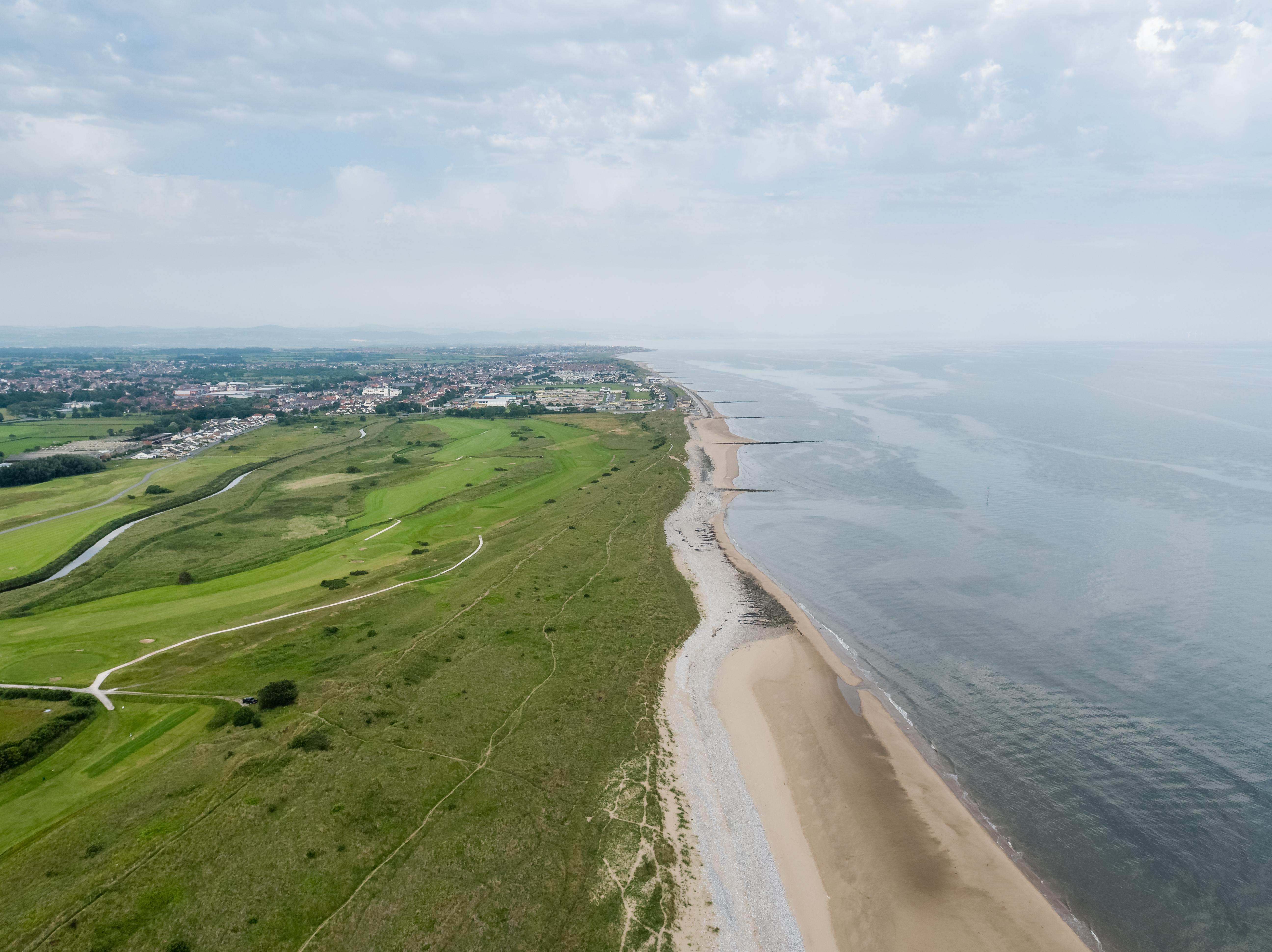 Prestatyn_Golf_Club_Drone-0043